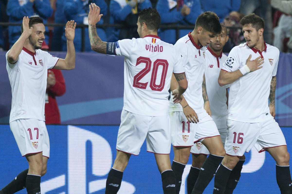 Sevilla avantajı kaptı!