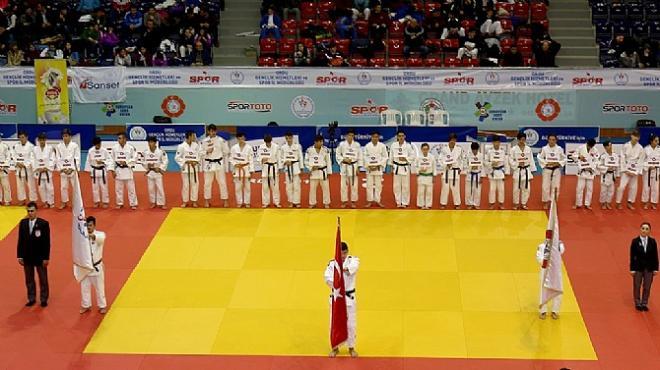 Ümitler Türkiye Judo Şampiyonası sona erdi