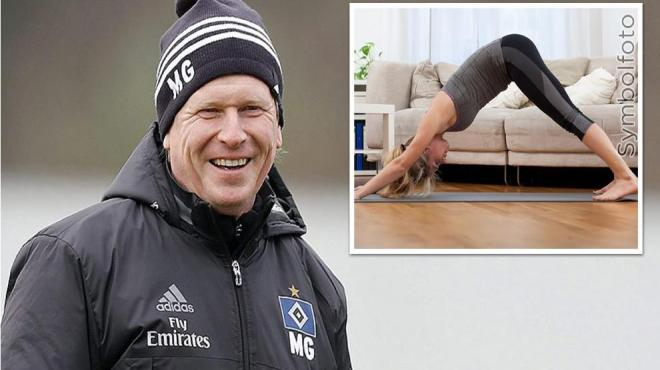 Hamburg'da çare yoga!