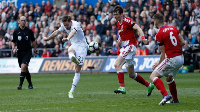30. Hafta / Swansea City-Middlesbrough: 0-0