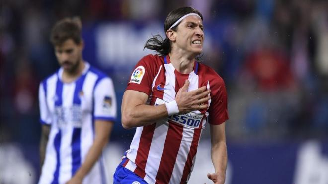 Filipe Luis'ten Atletico Madrid'e kötü haber