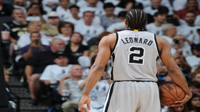 Spurs'ü Leonard taşıdı!