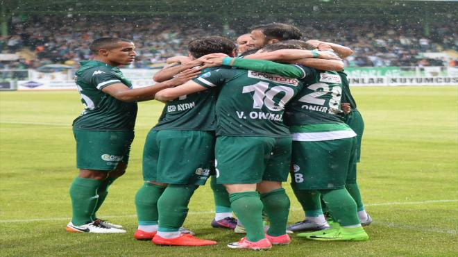 Giresunspor play-off'u garantiledi!
