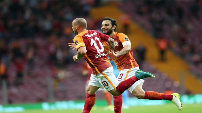 Arena'da kazanan Galatasaray!
