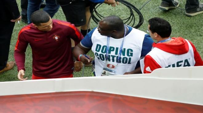 Ronaldo'ya doping kontrolü!