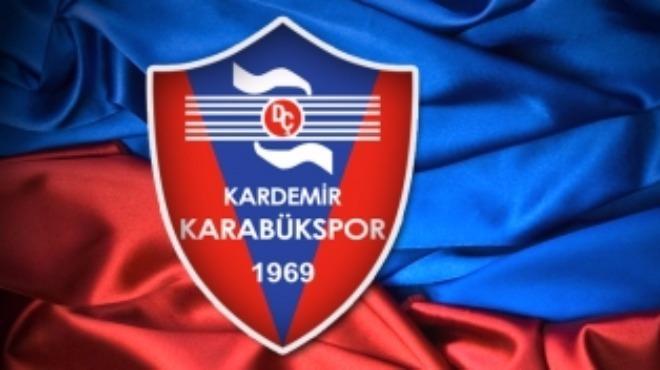 Karabükspor'da transfer!