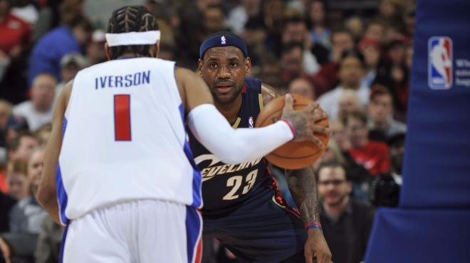 Allen Iverson'ın seçimi LeBron James