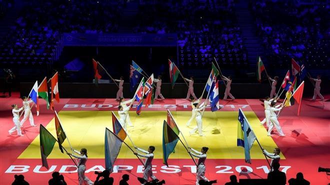 Dünya Judo Şampiyonası'nın açılış töreni yapıldı