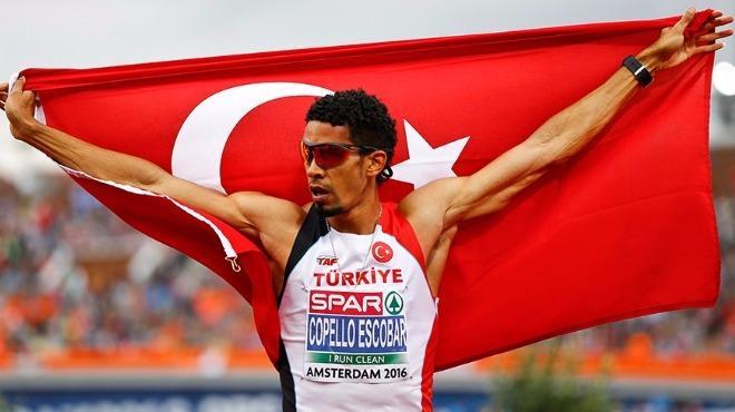 Milli atlet Yasmani'nin mutlu günü