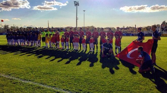 19 Yaş Altı Milli Futbol Takımı, İtalya'yla berabere kaldı