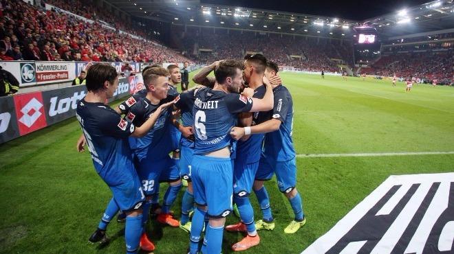 Hoffenheim son anda kazandı