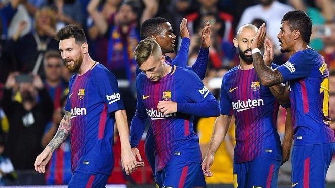 Girona'dan 2 gol geldi ama Barça 3-0 kazandı!