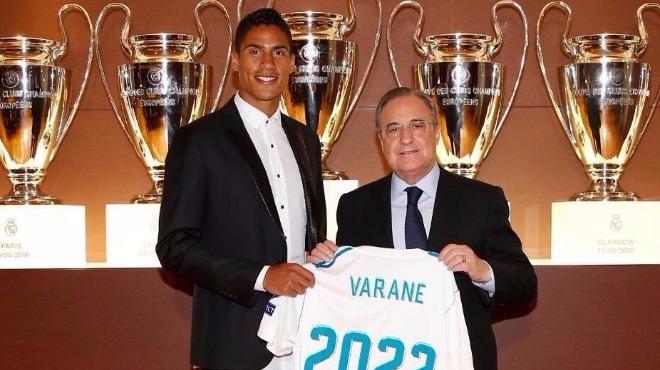 "Varane konuştu: ""Ronaldo'yu eleştirmek..."""