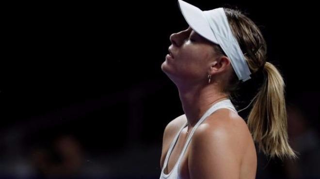 Sharapova ilk turda veda etti