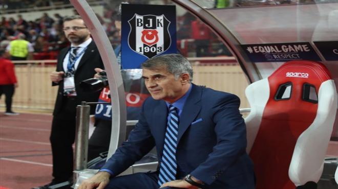Beşiktaş ve Şenol Güneş tarihe geçti
