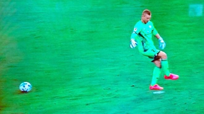 """O anları anlattı: """"Beni yanıltan penaltı noktası oldu."""""""