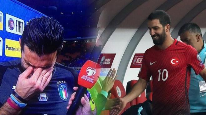 Buffon ağladı, Arda Turan gündem oldu! İşte detaylar...