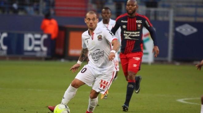 Nice puan kaybetti, Sneijder 90 dakika oynadı!