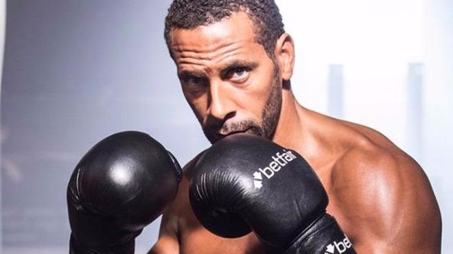 Video - Rio Ferdinand ringlere hazırlanıyor