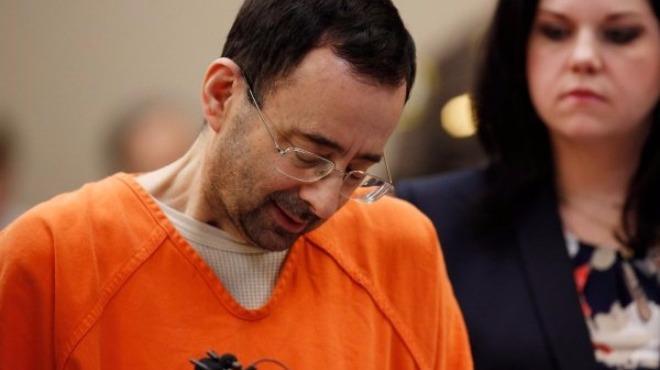 ABD cimnastik takımının eski doktoruna 60 yıl ceza
