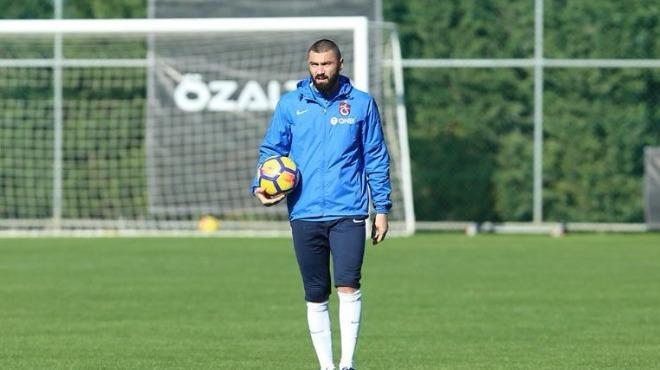 Trabzonspor'da kamp sona erdi! Burak Yılmaz...