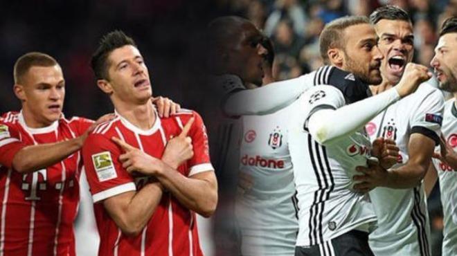 Beşiktaş-Bayern Münih maçı tarihe geçecek! İşte detaylar: