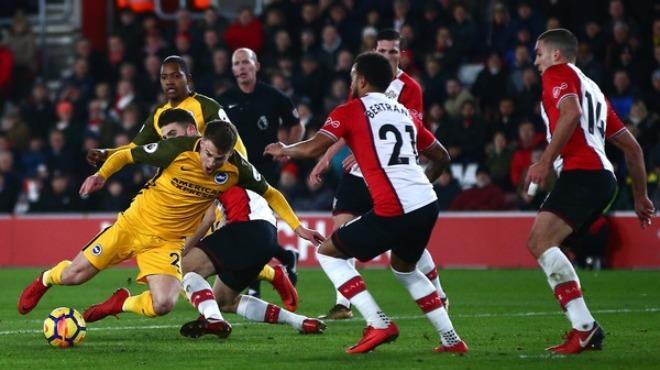 31.01.2018 Southampton - Brighton & Hove Albion 1-1 Premier Lig Maç Özeti