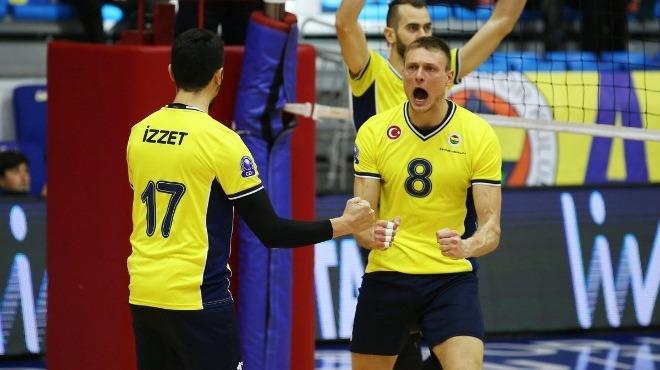 Fenerbahçe, Ziraat Bankası'na set kaptırmadı!