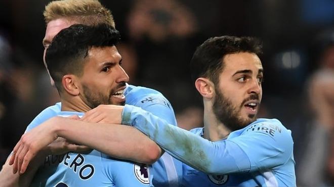 Manchester City farka gitti! Agüero şov