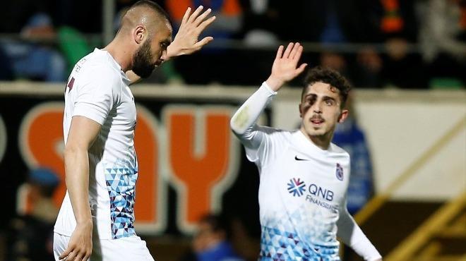 Trabzonspor'un genç yeteneği Abdülkadir Ömür maça damga vurdu