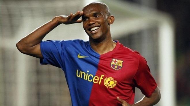 Video - Barcelona'dan 37. yaşını kutlayan Samuel Eto'o'ya özel klip