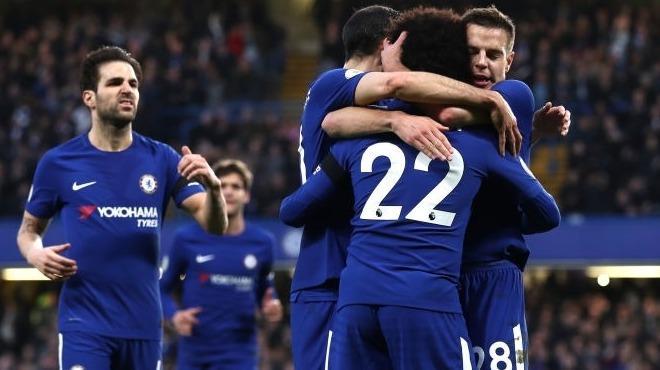 Chelsea ilk yarıda bitirdi!