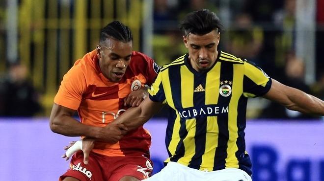 Fenerbahçe - Galatasaray derbisinde Rodrigues'i izlediler
