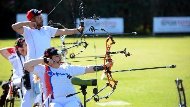 Bedensel Engelliler Okçuluk Açık Hava Türkiye Şampiyonası başladı