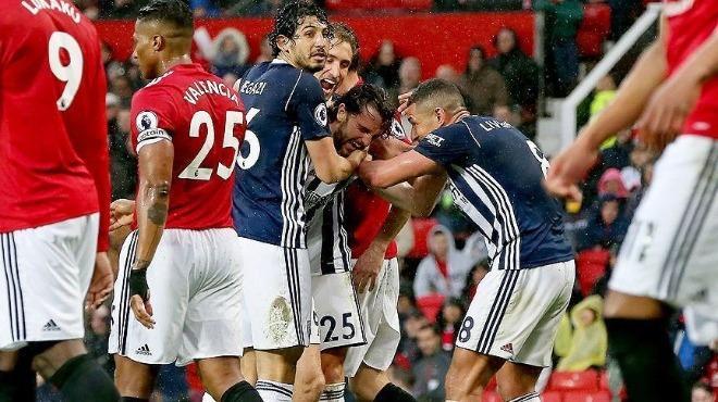 15.04.2018 Manchester United - West Bromwich 0-1 Premier Lig Maç Özeti