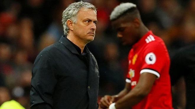 Pogba'ya Mourinho şoku!