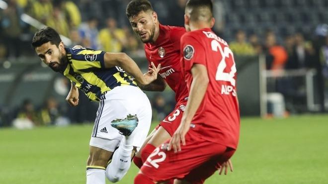 Antalyaspor'un serisi sona erdi