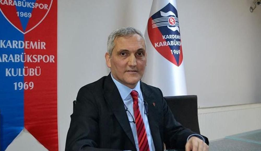 """Mehmet Yüksel: """"Ligden düştük ancak Karabükspor adını düşürmedik"""""""