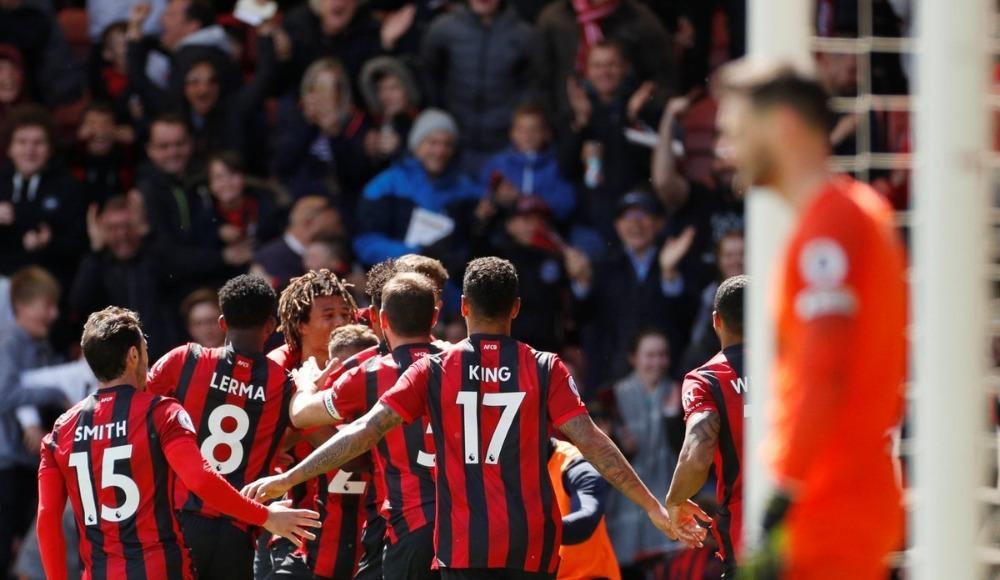 Özet - Bournemouth, 9 kişi kalan Tottenham'ı tek golle yendi!