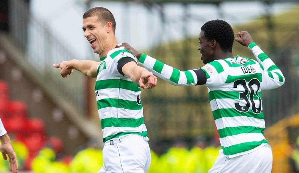İskoçya Premiership'te şampiyon Celtic