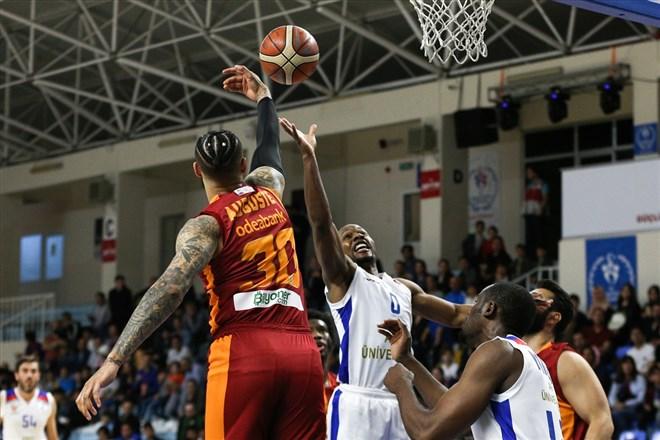 Galatasaray Doğa Sigorta deplasmanda farklı kazandı