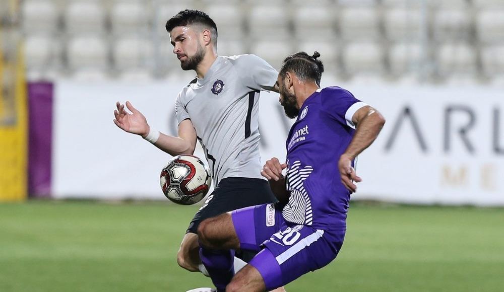 Afjet Afyonspor - Osmanlıspor maçında gol sesi çıkmadı!