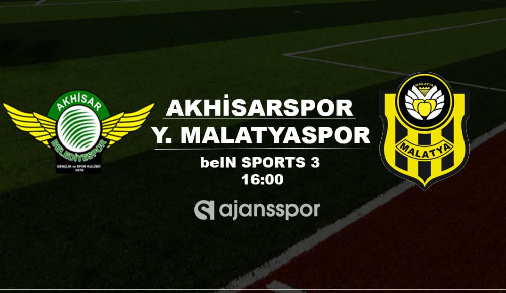 Akhisarspor - Yeni Malatyaspor (Canlı Skor)