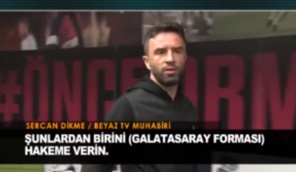 """Gökhan Gönül'den flaş söz! """"Galatasaray formasını hakeme verin"""""""