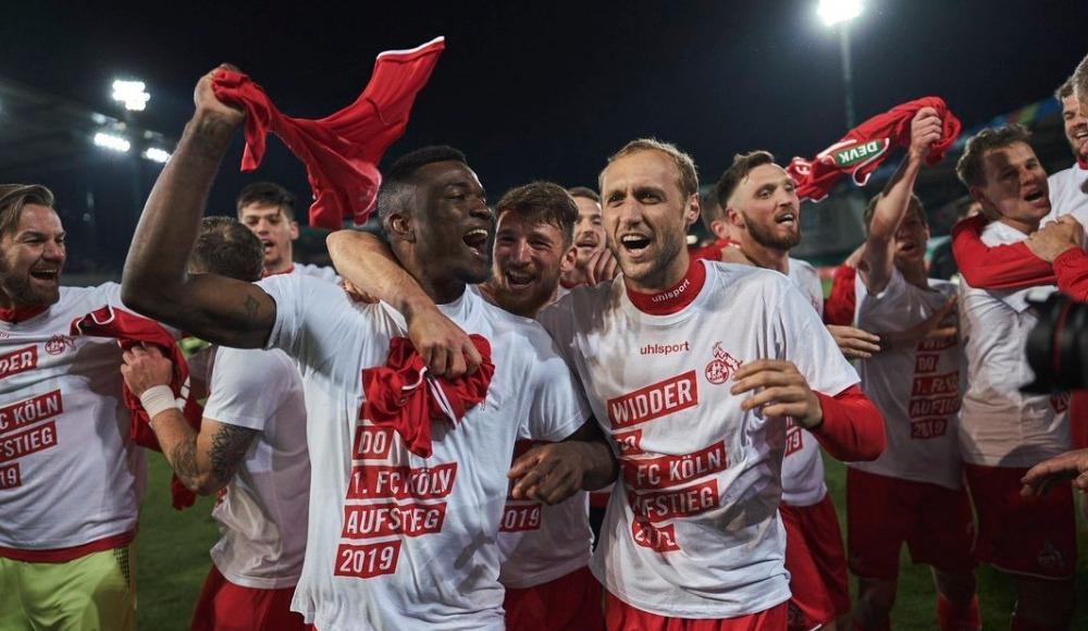 Köln, Bundesliga'ya geri döndü