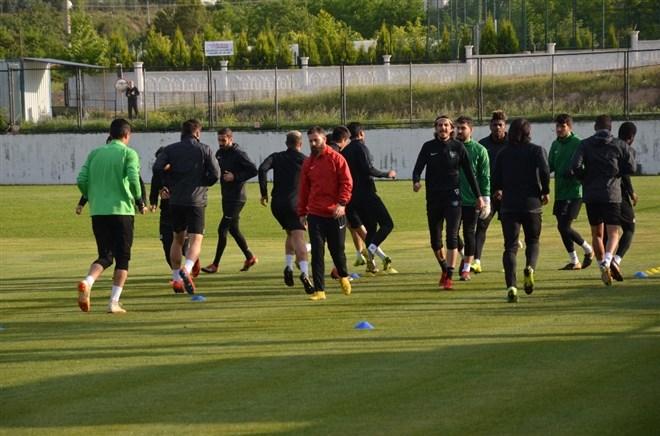 Denizlispor, Karabükspor maçı hazırlıklarını sürdürüyor