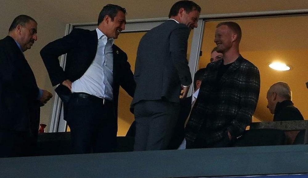 Ali Koç'tan sürpriz görüşme! Süper Lig'in yıldızı locada görüntülendi...
