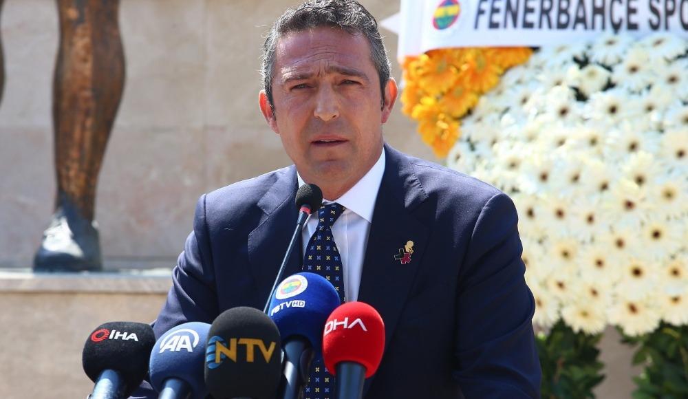 Ali Koç'tan Ersun Yanal ve transfer sözleri