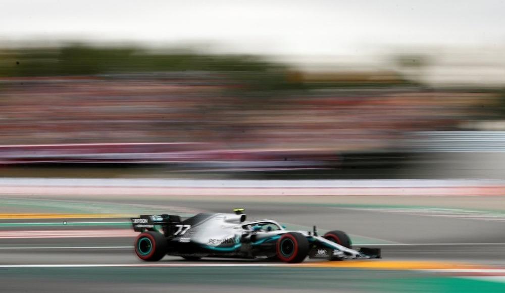 İspanya'da pole pozisyonu Bottas'ın!