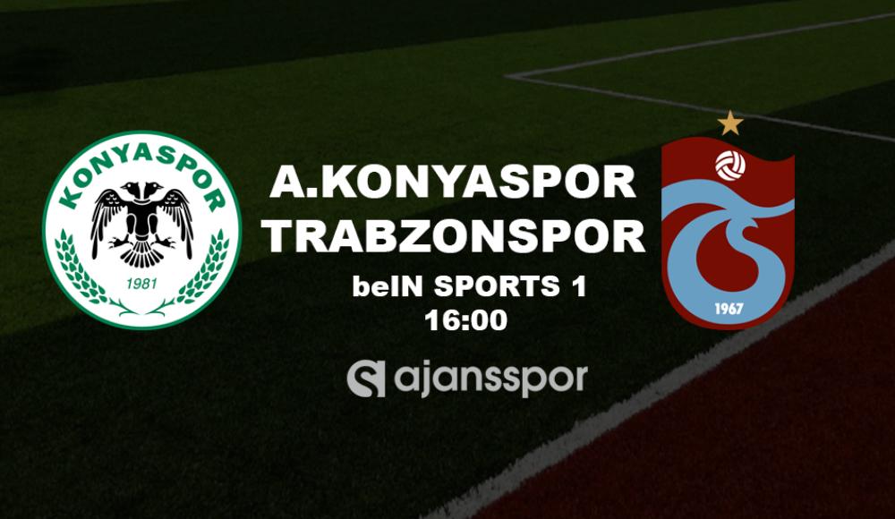 Konyaspor - Trabzonspor (Canlı Skor)